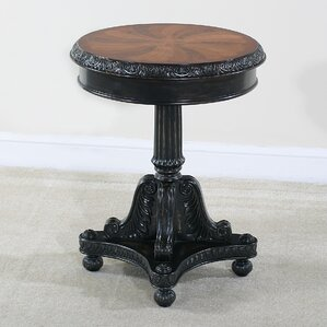 Preswick Marquetry End Table by Ultimate Accents