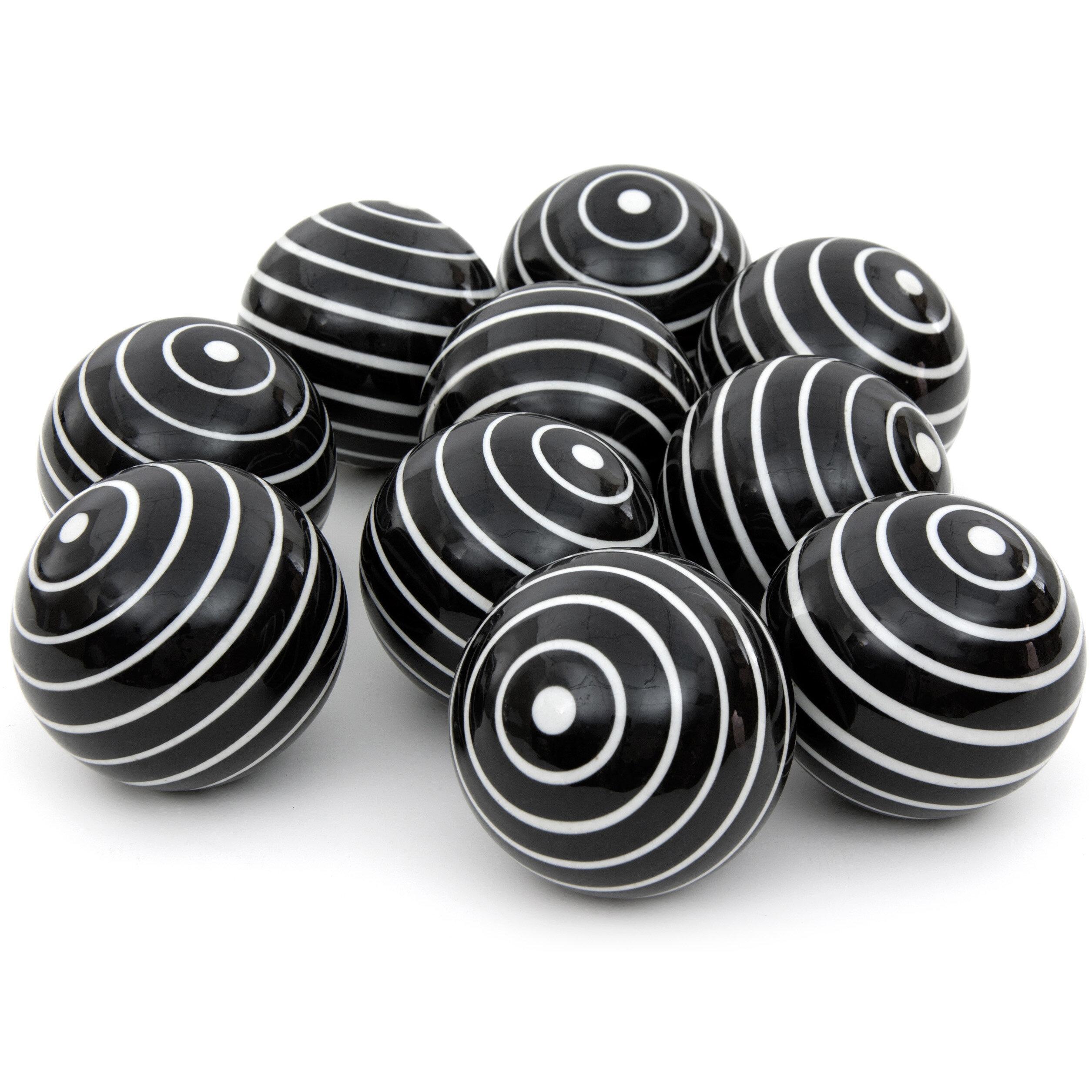 Arpita Stripes Decorative Balls Reviews
