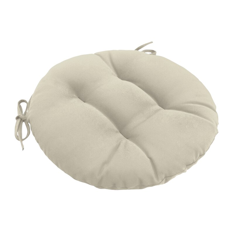 Incroyable Outdoor Round Dining Chair Cushion