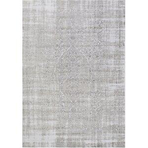 Ismay Ivory/Medium Gray Area Rug