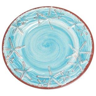 Starfish Melamine 9  Salad/Dessert Plate (Set of 4)  sc 1 st  Wayfair & Starfish Melamine Plates | Wayfair