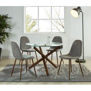 jade modern 5 piece dining set