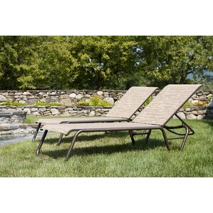 gardenella reclining chaise lounge set of 2