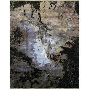 Jackson Hand-Knotted Gray Area Rug