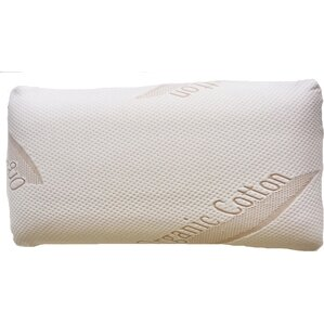 Removable Cotton Cove Memory Foam Standard Pillow by Container