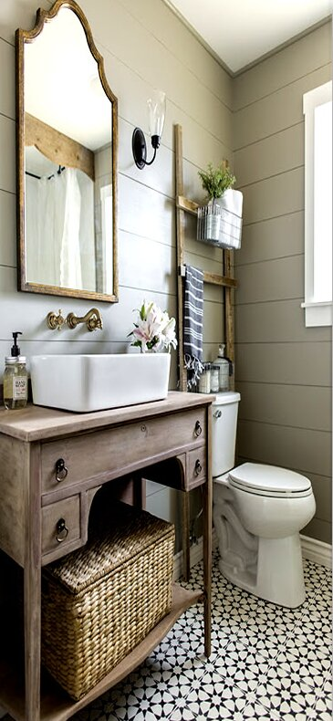 Bathroom, Cottage/Country Design Ideas | Wayfair