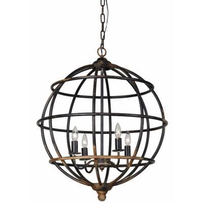 Gracie Oaks Mavis 4 Light Lantern Chandelier Reviews