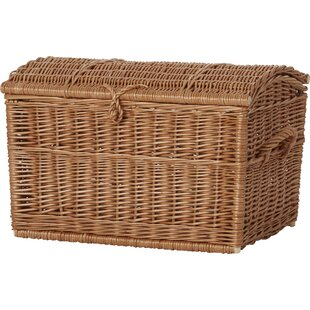 Wicker Blanket Basket