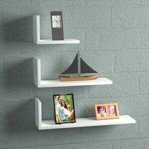 hudkins modern floating shelf