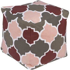 Chelsie Square Pouf Ottoman by Harriet Bee