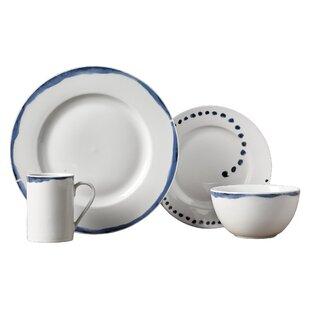 Stoneham 16 Piece Dinnerware Set Service for 4  sc 1 st  Birch Lane & Dinnerware Sets \u0026 Place Settings | Birch Lane