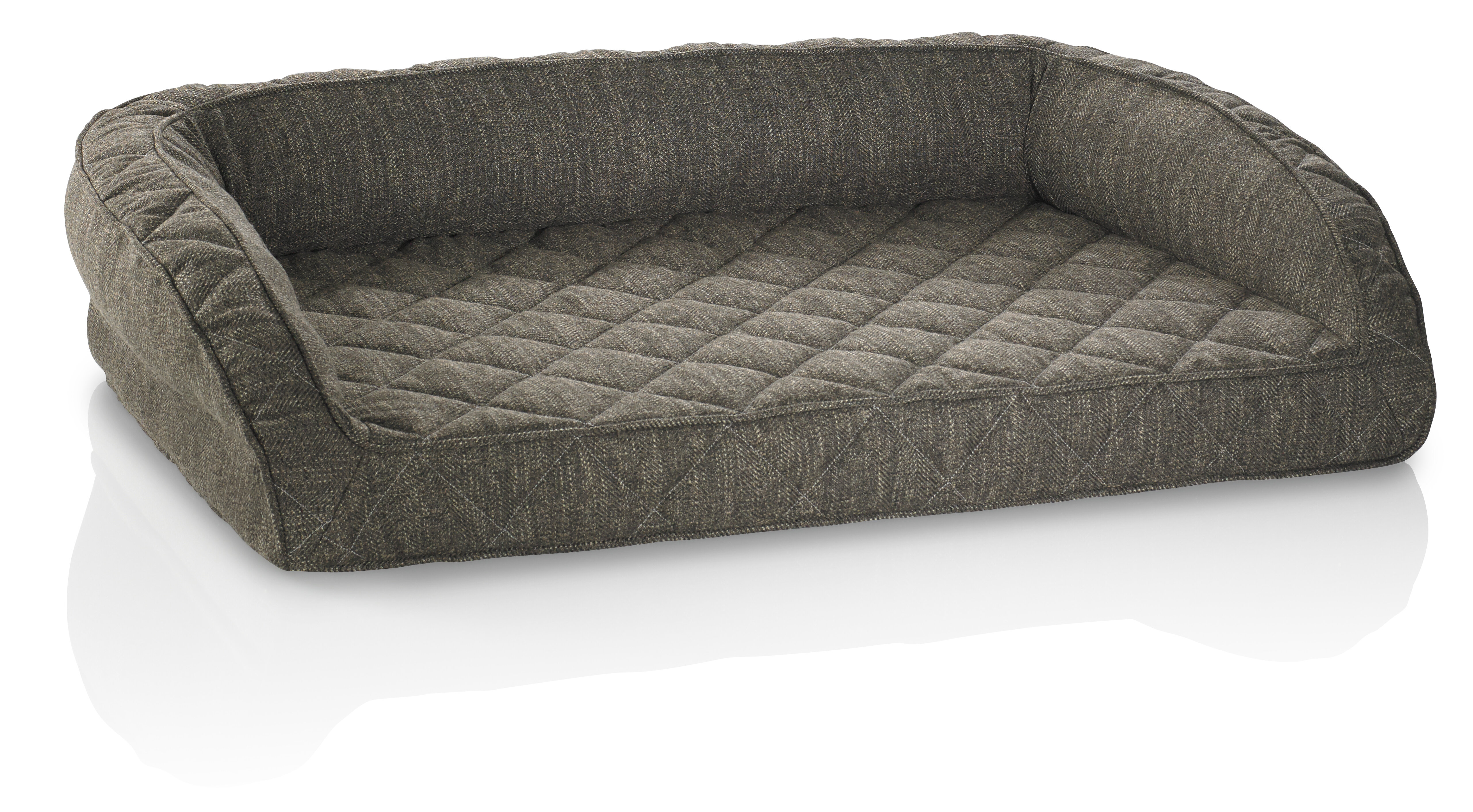 foam com x with ip cover removable bed large dog memory walmart