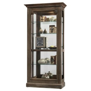 Broadwater Lighted Curio Cabinet