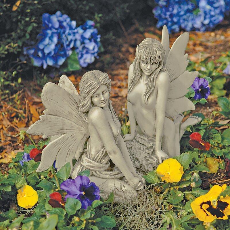 design toscano the enchanted garden fairies marilee statue - Enchanted Garden