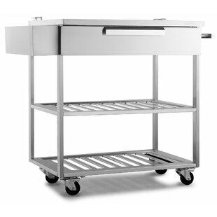 Outdoor Kitchen Bar Serving Cart