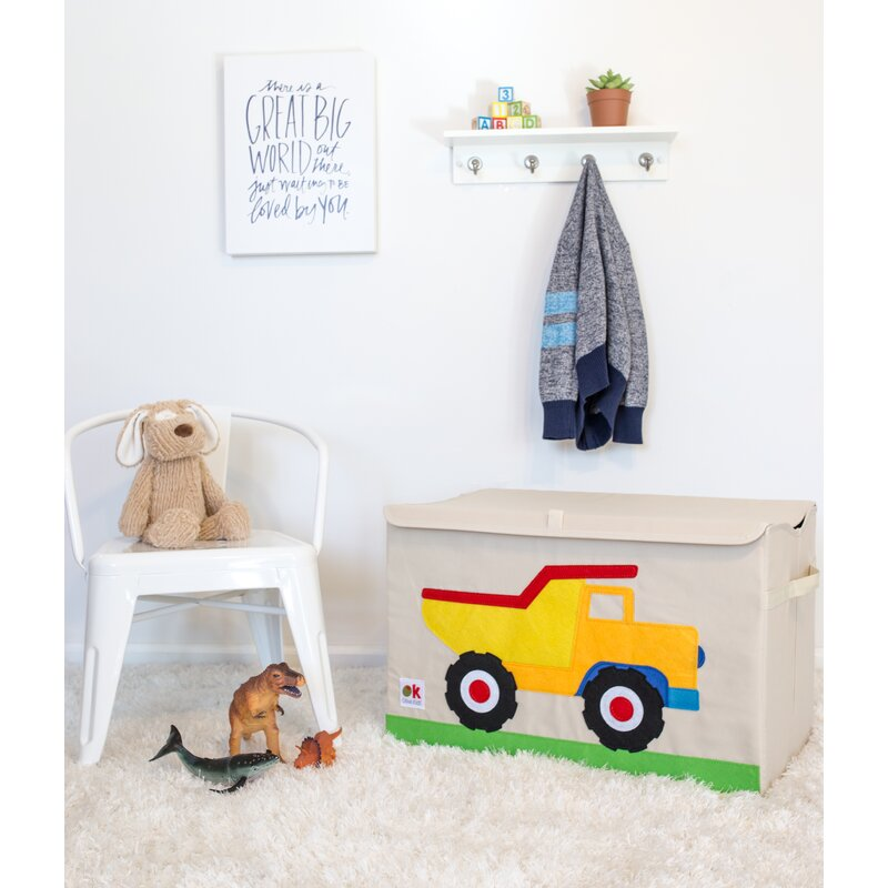 Olive Kids Dump Truck Toy Box