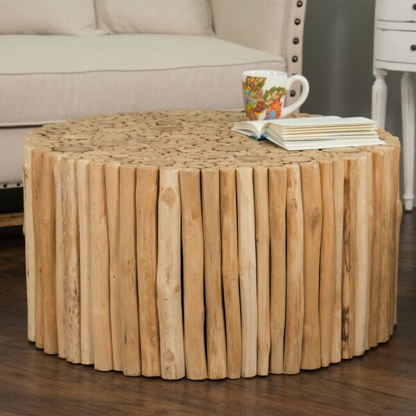 Beachcrest Home Great Heron Coffee Table U0026 Reviews   Wayfair