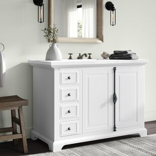 Ogallala 48 Single Cottage Bathroom Vanity Set