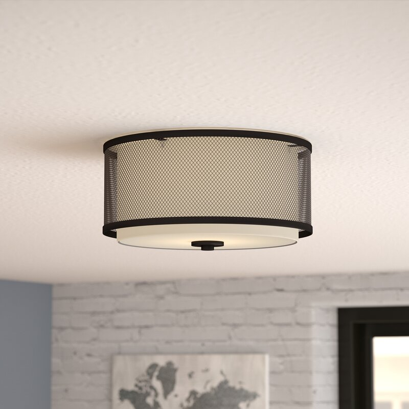 Birchfield 3 Light Flush Mount Amp Reviews Allmodern