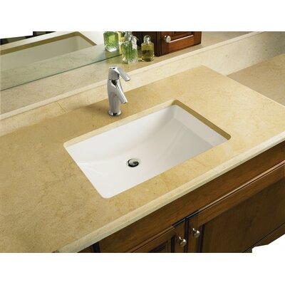 Undermount Rectangular Bathroom Sink kohler memoirs rectangular undermount bathroom sink with overflow