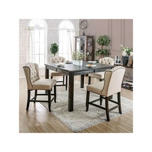 Duley Rectangular 5 Piece Dining Set