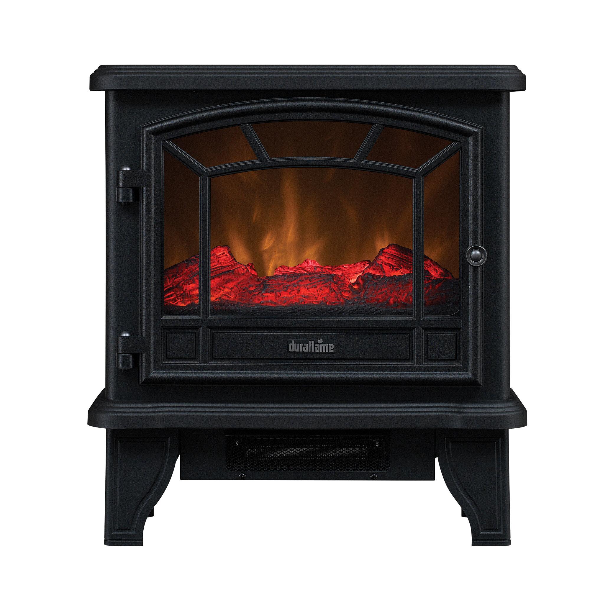 electric potbelly stoves wayfair rh wayfair com Pot Belly Stove Heating Looking Electric Heater Pot Belly