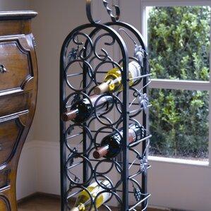 Bismarck 12 Bottle Floor Wine Rack by Fleur De Lis Living