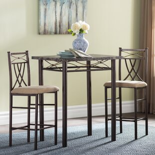 Cincinnati 3 Piece Dining Set