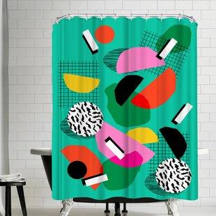 Wacka Designs Flange Shower Curtain
