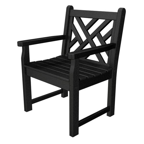 POLYWOOD® Chippendale Garden Arm Chair U0026 Reviews | Wayfair