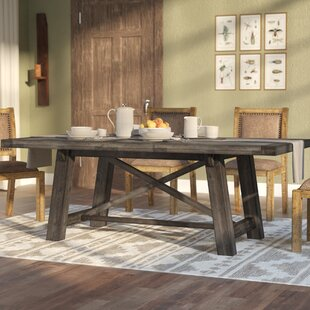 Colborne Extendable Solid Wood Dining Table