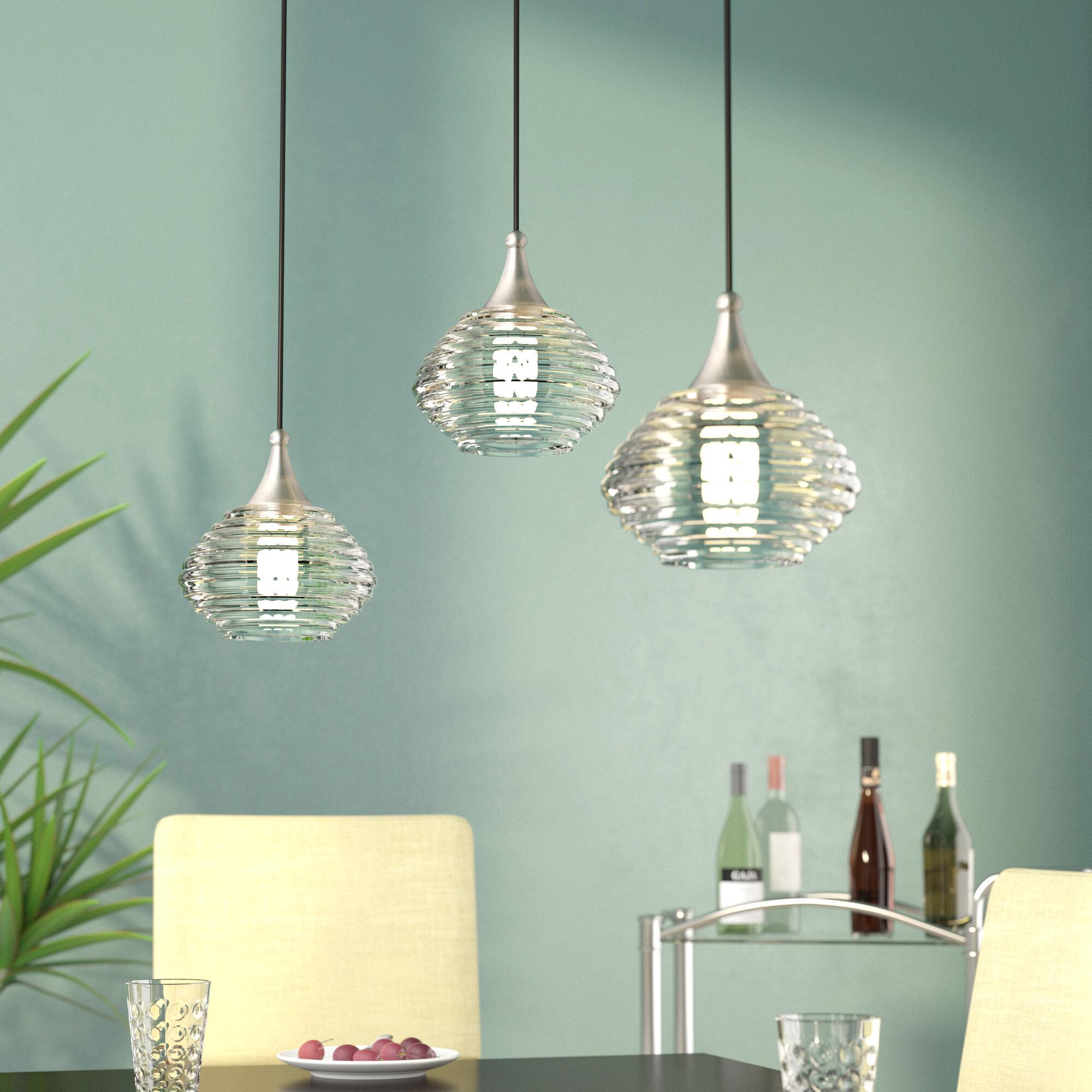 Laurel Foundry Modern Farmhouse Limewood 1-Light Globe Shade Glass ...
