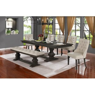 Rotteck 7 Piece Extendable Dining Set