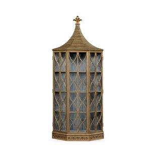 Daphne's Lighted Corner Curio Cabinet