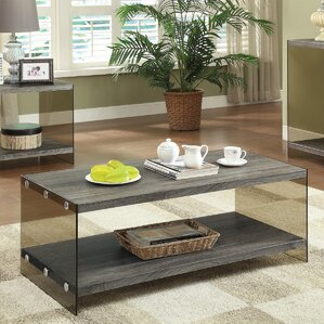 Mallus Modern Coffee Table by Mercury Row