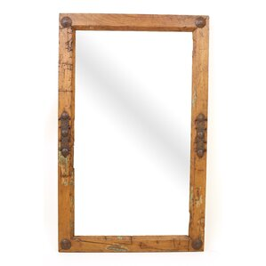 Old Door Rustic Mirror