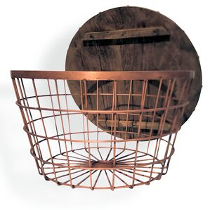 Urban Large Wire Basket End Table (Set Of 2)