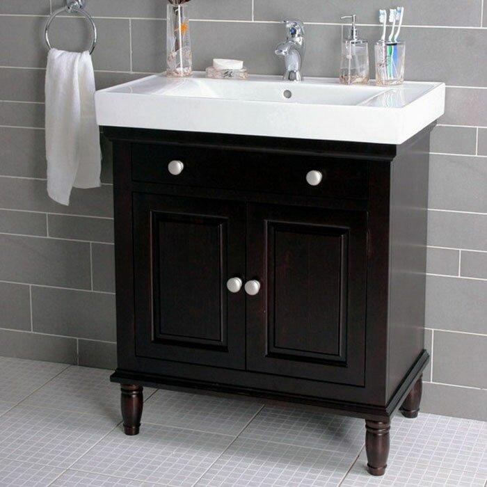 Lanza 30 Quot Single Bathroom Vanity Set Amp Reviews Wayfair