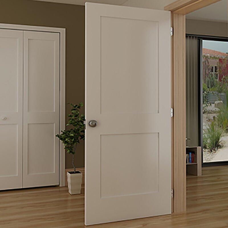 KIBY Shaker 2 Panel Wood Slab Interior Door & Reviews