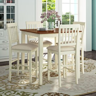 Quinlan 5 Piece Counter Height Pub Table Set