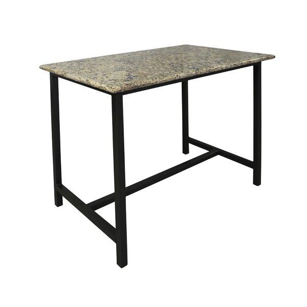 Latitude Run Weatherby Granite Pub Table U0026 Reviews | Wayfair