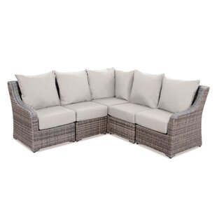 Outdoor Patio Sectional Sofas | Wayfair