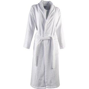 Luxury 100% Turkish Cotton Light-Weight Shawl Collar Terry Bathrobe 05fa2bb63