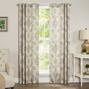 Terrence Single Curtain Panel