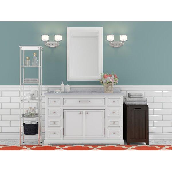 Three Posts Bergin 48 Single Sink Bathroom Vanity Set Reviews Wayfair