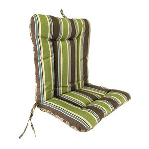 Wrought Iron Outdoor Dining Chair Cushion