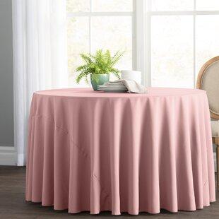 Light Pink Tablecloth | Wayfair