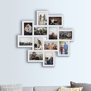 ce394937954 Haymond Gallery Style Wall Hanging 12 Opening Photo Sockets Picture Frame