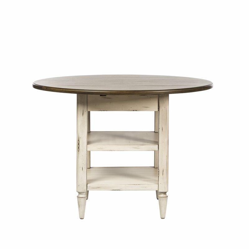 Lark Manor Baleine Extendable Dining Table Amp Reviews Wayfair