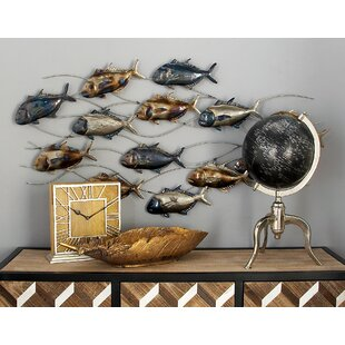Metal Fish Wall Décor